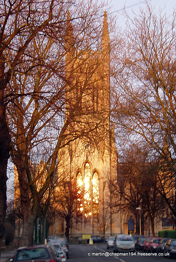 2008 Christ Church in sun by DH