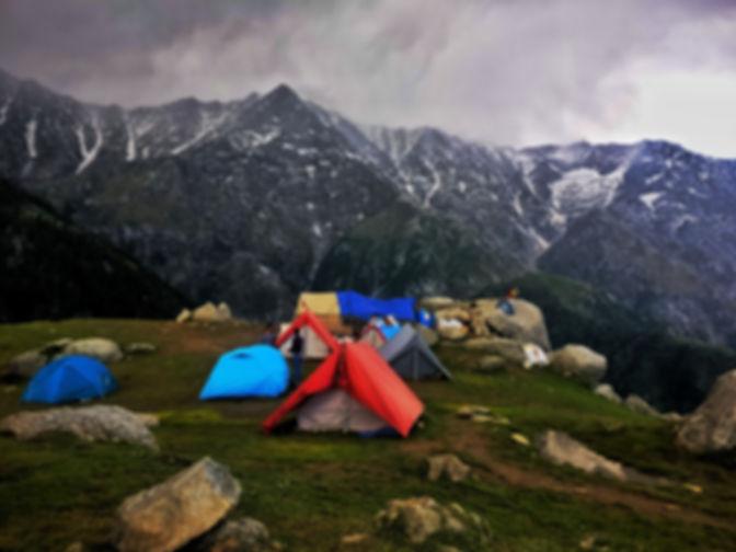 キャンプ場の設定