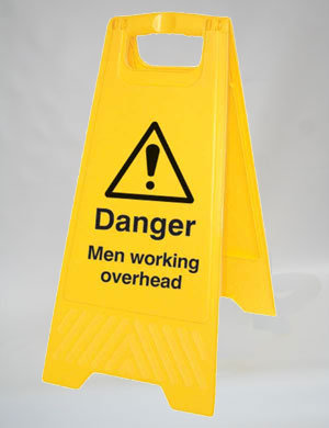 Caution Men Working Overhead (A008)