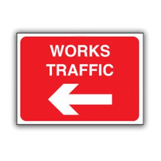 Work Traffic Left (T030)