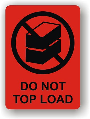 Do Not Top Load (P016)
