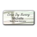 White Metal Badge (B008)
