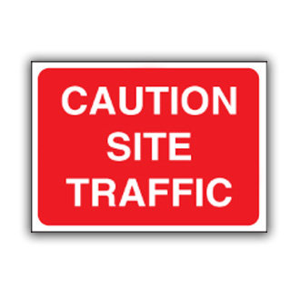 Caution Site Traffic (U021)