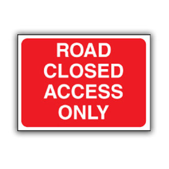 Road Closed Access Only (U011)