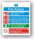 Fire Action (F016)