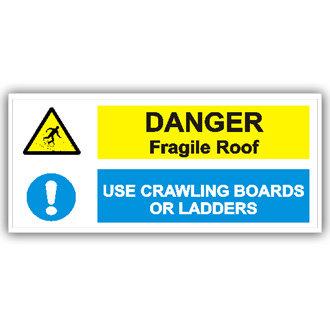 Danger Fragile Roof (T009)