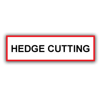 Hedge Cutting (U037)