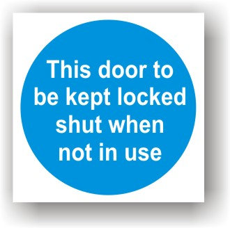 Door Kept Locked (G015)