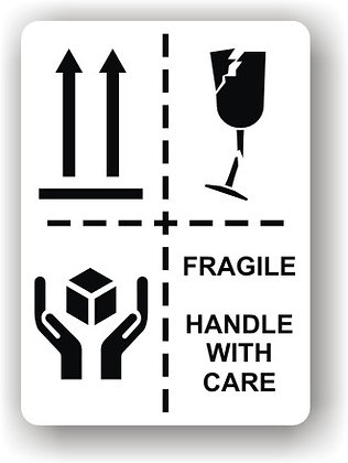 Directional Arrows/This Way Up/Handle With Care (P012)