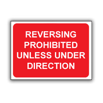 Reversing Prohibited Unless Under Direction (T031)