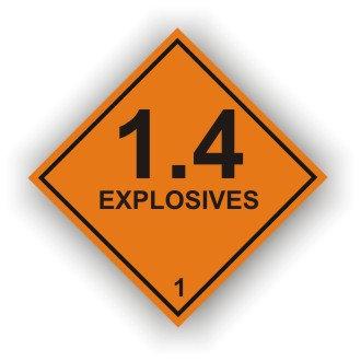 1.4 Explosives (M029)