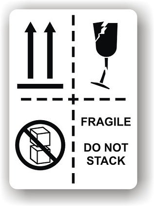 Directional Arrows/Fragile/Do Not Stack (P014)