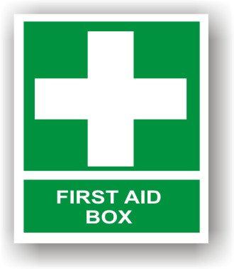 First Aid Box (J004)