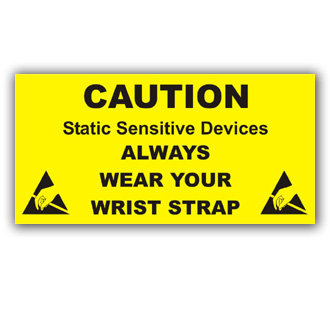 Caution Static Sensitive Device (E011)