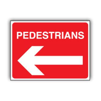 Pedestrians Left (U015)