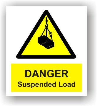 Danger Suspended Load (W012)