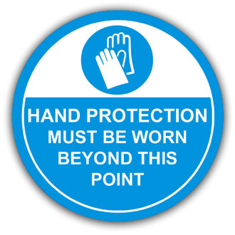 Hand Protection Must Be Worn (L019)