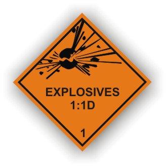 Explosives 1:1D (M020)