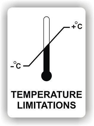 Temperature Limitations (P019)