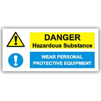Danger Hazardous Substances (T014)
