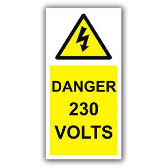Danger 230 Volts (D002)