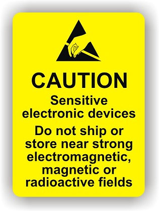 Caution Sensitive Electronic Devices (P023)