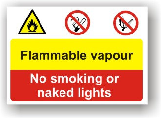 Flammable Vapour (I002)