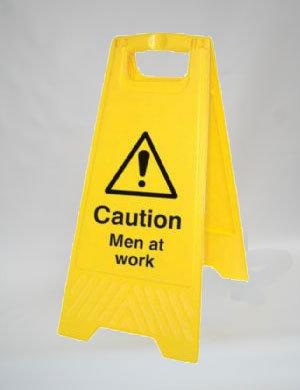 Caution Men Working (A014)
