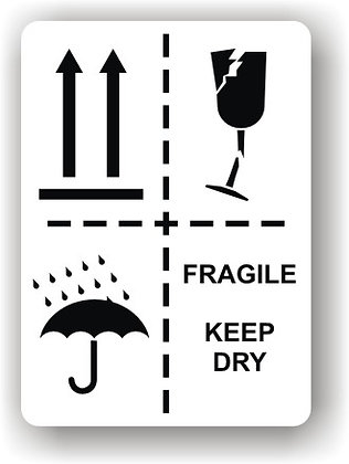 Directional Arrows/This Way Up/Fragile/Keep Dry (P013)