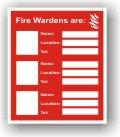 Fire Wardens (F013)