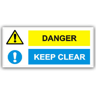 Danger Keep Clear (T008)