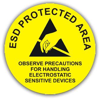 ESD Protected Area (E030)