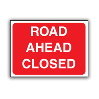 Road Ahead Closed (U009)
