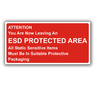 Attention You Are Now Leaving an ESD Protected Area (E026)