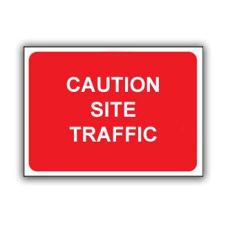 Caution Site Traffic (T024)