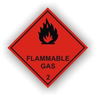 Flammable Gas Class 2 (M001)