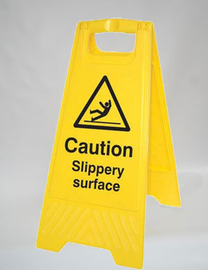 Caution Slippery Services (A009)