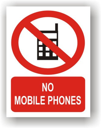 No Mobile Phones (R021)