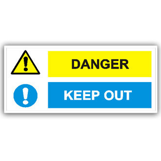 Danger Keep Out (T007)