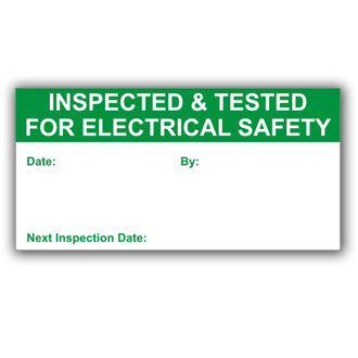 Inspected for Electrical Safety (D031)