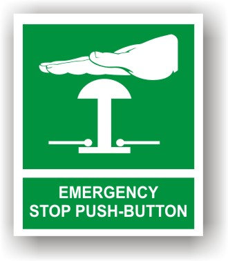 Emergency Stop Button (J008)