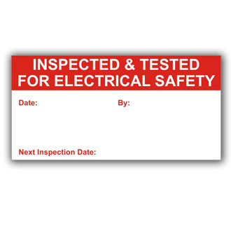 Inspected for Electrical Safety (D033)
