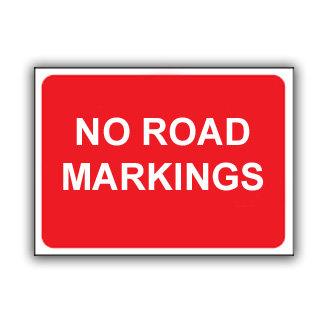No Road Markings (U025)