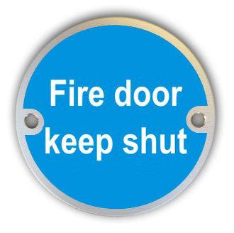 Fire Door Keep Shut (G005)