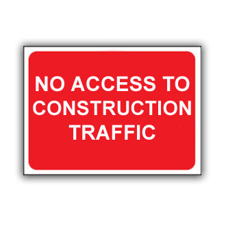 No Access to Construction Traffic (T022)