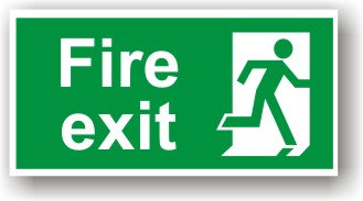 Fire Exit Right (H010)