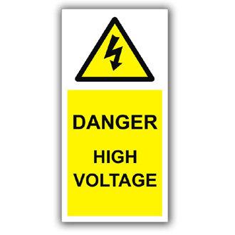 Danger High Voltage (D020)