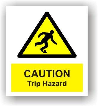 Caution Trip Hazard (W004)