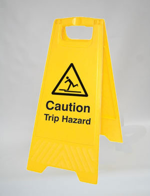 Caution Trip Hazard (A010)