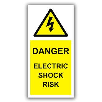 Danger Electric Shock Risk (D018)